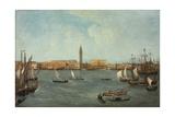 The Bacino Di San Marco, Venice, Looking Towards to Molo Giclee Print by Michele Marieschi