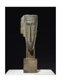 Head, 1910-12 Giclee Print by Amedeo Modigliani