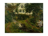 The Old Vicarage, before 1908 Giclee Print by Nikolai Astrup