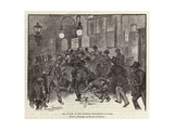 Six O'Clock at the General Post Office Giclee Print by Harry Furniss