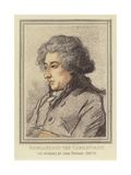 Portrait of Thomas Rowlandson the Caricaturist Giclee Print by John Raphael Smith