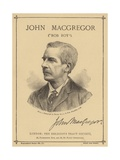 Portrait of John Macgregor Giclee Print by  Maull & Fox