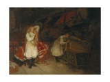 Dressing Up the Bride, 1878 Giclee Print by Olaf Isaachsen