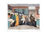 Dix Heures Et Demie, Illustration from 'Moeurs Administratives, Dessinées D'Après Nature' by… Giclee Print by Henri Bonaventure Monnier