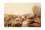 On the Moors, 1843 Giclee Print by Francis William Topham
