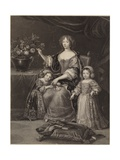 Duchess of Orleans Giclee Print by Pierre Mignard