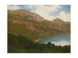 View from the Rigi Overlooking Lake Lucerne, 1857 Giclee Print by Robert Zund