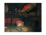 Setesdal Attic, 1878 Giclee Print by Olaf Isaachsen