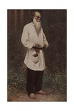 Leo Tolstoy (1828-1910), Russian Novelist, Short Story Writer and Playwright, 1901 Giclee Print by Ilya Efimovich Repin