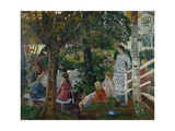 Birthday in the Garden, 1926-28 Giclee Print by Nikolai Astrup