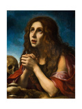 The Penitent Magdalen, C.1670 Giclee Print by Carlo Dolci