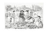 Garden Giclee Print by John Leech