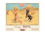 Sunny Rhyl Giclee Print by Septimus Edwin Scott