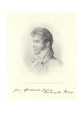 Portrait of Washington Irving Giclée-Druck von John Vanderlyn