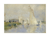 Regatta at Argenteuil, 1874 Giclee Print by Pierre Auguste Renoir
