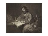 Saint Luke Giclee Print