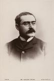 Rudyard Kipling (1865-1936), English Short Story Writer, Poet and Novelist Photographic Print