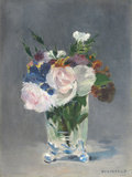 Flowers in a Crystal Vase, C.1882 Giclee Print by Édouard Manet