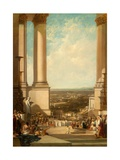 The Temple of Aesculapius, 1837 Giclee Print by Sir Augustus Wall Callcott