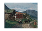 Setesdal, 1878 Giclee Print by Olaf Isaachsen