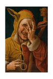 Laughing Fool, C.1500 Giclee Print by Jacob Cornelisz van Oostsanen