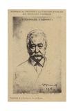 Ferdinand De Lesseps (1805-1894), French Entrepreneur and Canal Builder Giclee Print by Leon Joseph Florentin Bonnat