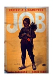 Job Cigarette Paper, 1895 Giclee Print