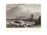 Mount Edgcumbe, Devon Giclee Print by James Duffield Harding