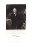 Portrait of Sir Charles Mansfield Clarke Giclee Print by Samuel Lane