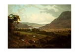 A Scene in the Lake District Giclee Print by Julius Caesar Ibbetson
