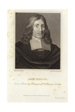 Portrait of John Milton Giclee Print by William Dobson