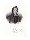 Casimir Delavigne Giclee Print by Francois Seraphin Delpech