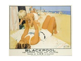 Blackpool Giclee Print by Septimus Edwin Scott