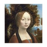 Ginevra De' Benci, C. 1474- 78 Giclee Print by  Leonardo da Vinci