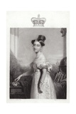 Queen Victoria at the Age of 18 Giclee Print by Sir George Hayter