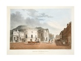 Rotunda and New Rooms, Dublin, 1795 Giclee Print by James Malton
