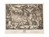 Temptation of St. Anthony, 1635 Giclee Print by Jacques Callot