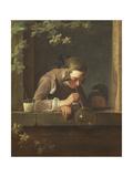 Soap Bubbles, C. 1733- 34 Giclee Print by Jean-Baptiste Simeon Chardin