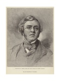 Portrait of William Makepeace Thackeray Giclee Print by Samuel Laurence