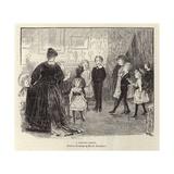 A Dancing Lesson Giclee Print by Hugh Thomson