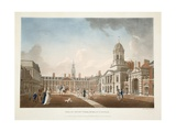 The Great Court Yard, Dublin Castle, 1792 Giclee Print by James Malton
