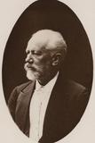 Portrait of Pyotr Ilyich Tchaikovsky Photographic Print