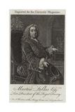 Martin Folkes Giclee Print by Thomas Hudson