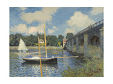 The Bridge at Argenteuil, 1874 Impressão giclée por Claude Monet
