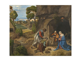 The Adoration of the Shepherds, 1505-10 Giclee Print by  Giorgione