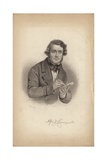 Alred Crowquill, Pseudonym of Alfred Henry Forrester Giclee Print by Charles Baugniet