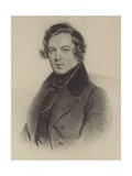 Portrait of Robert Schumann Giclee Print by German School