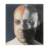 Bruce Willis, 2013 Giclee Print by Carolyn Hubbard-Ford
