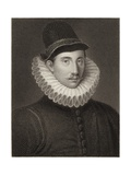 Fulke Greville Giclee Print by George Clint