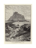 St Michael's Mount Giclee Print by Charles Napier Hemy